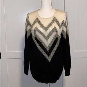 Staring at Stars chevron print chunky sweater